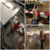 Murph's first trip to Ikea!