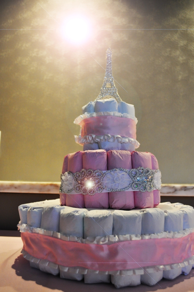 Ballerina in Paris - Diaper Cake