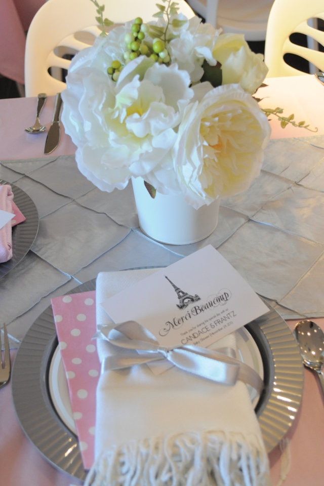 Ballerina in Paris - Table Setting 4