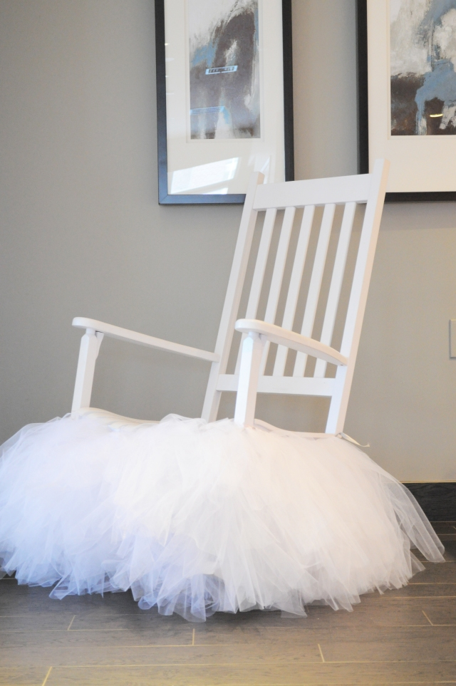Ballerina in Paris - Tutu Chair