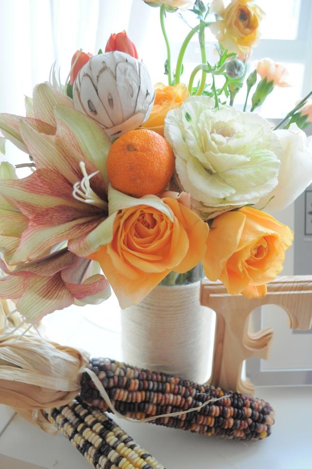 Peach Orange Flowers