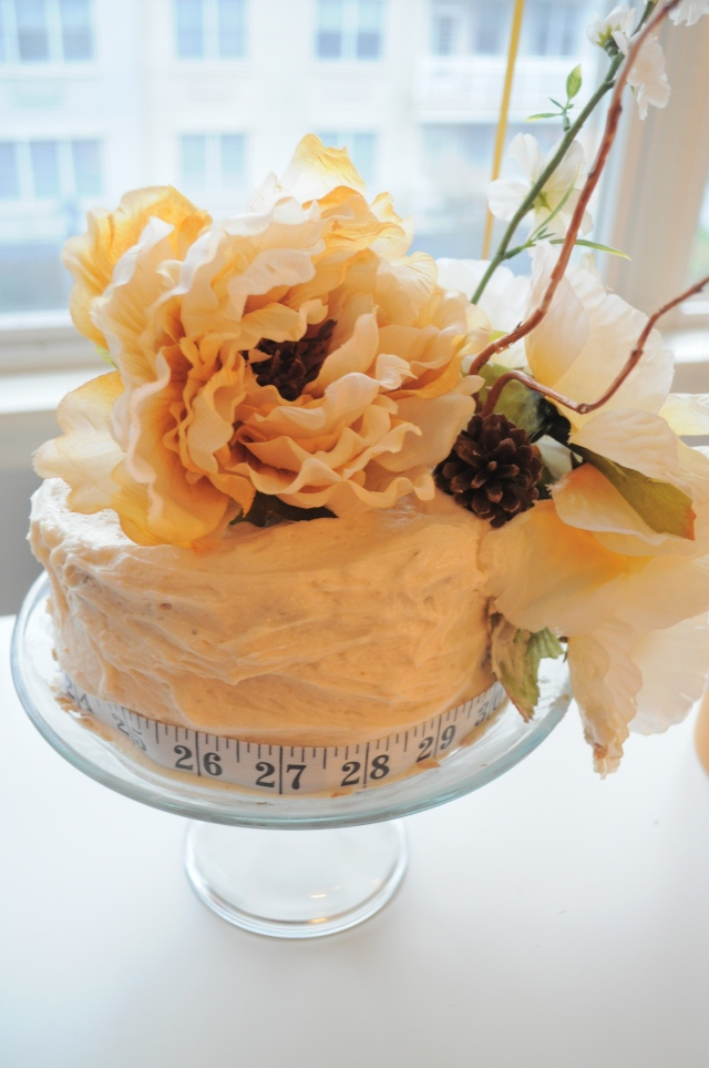 A Few of my Favorite  Things Birtday Brunch Cake Caramel Spice