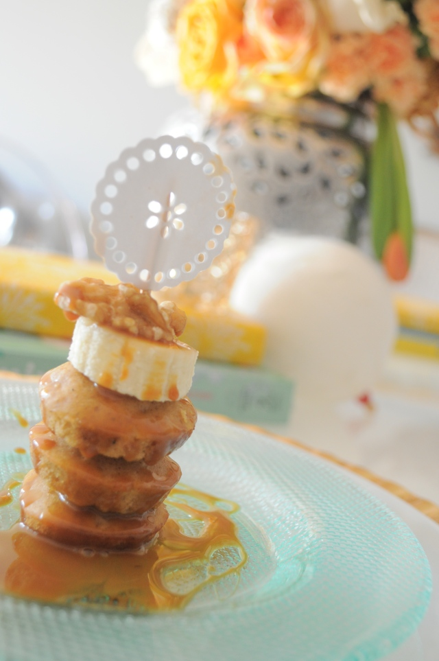 Mini Pumpkin Spice Pancakes
