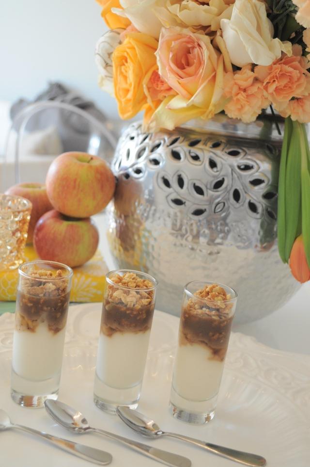 Caramel Apple Parfait