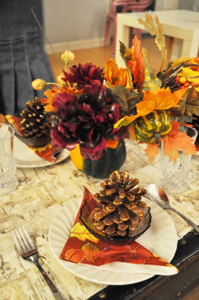 Kids Thanksgiving Table - The Table Setting