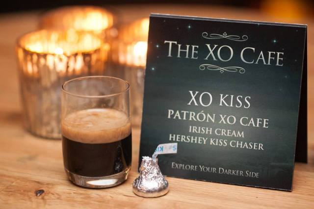 Patron XO Cafe Kiss Cocktail