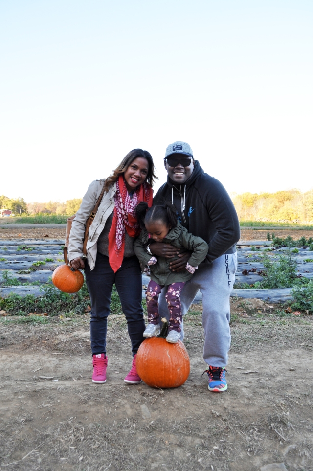 Us at the Pumpkin Patch
