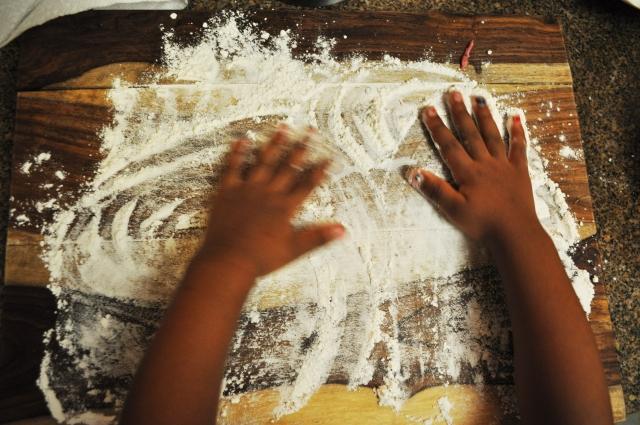 Birds nest Pasta - flour