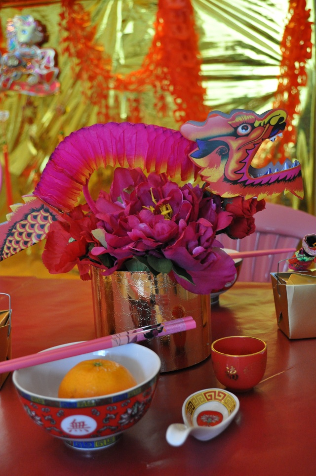 Chinese New Year - Dragon Flower Centerpiece
