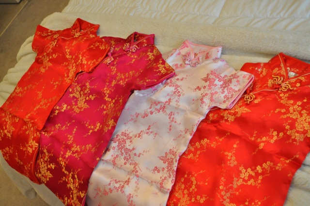 Chinese New Year - Mandarin Dress