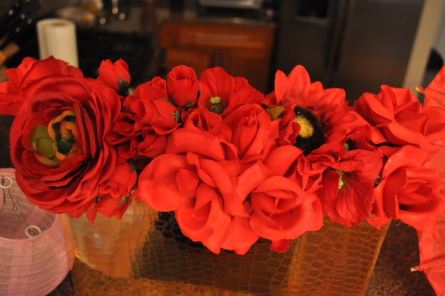 Chinese New Year - Red Flowers