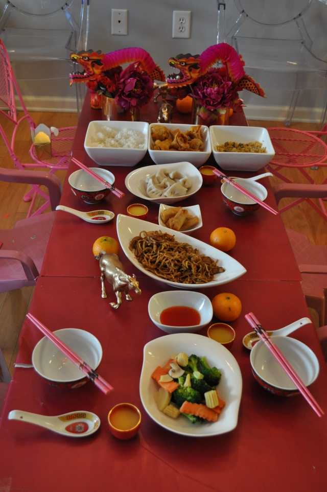 Chinese New Year - The Feast