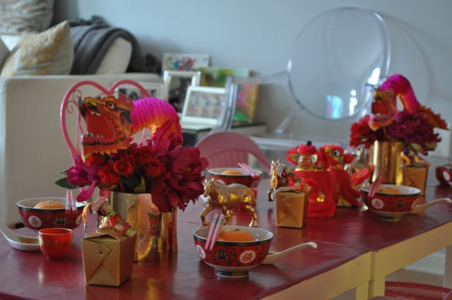 Chinese New Year - The Kids Table