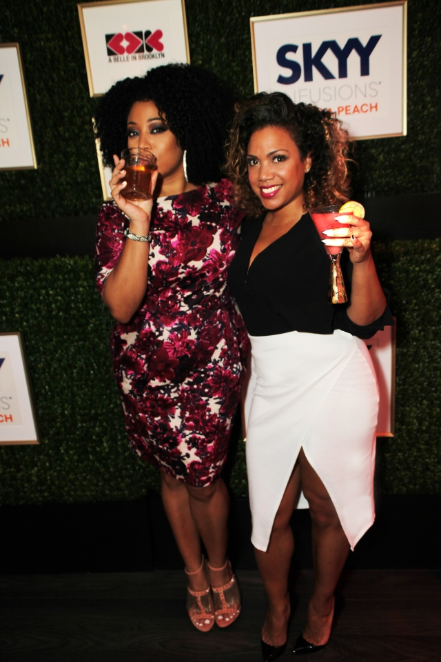 Cocktails with Belle - Atlanta - Demetria Lucas and Yaz Quiles
