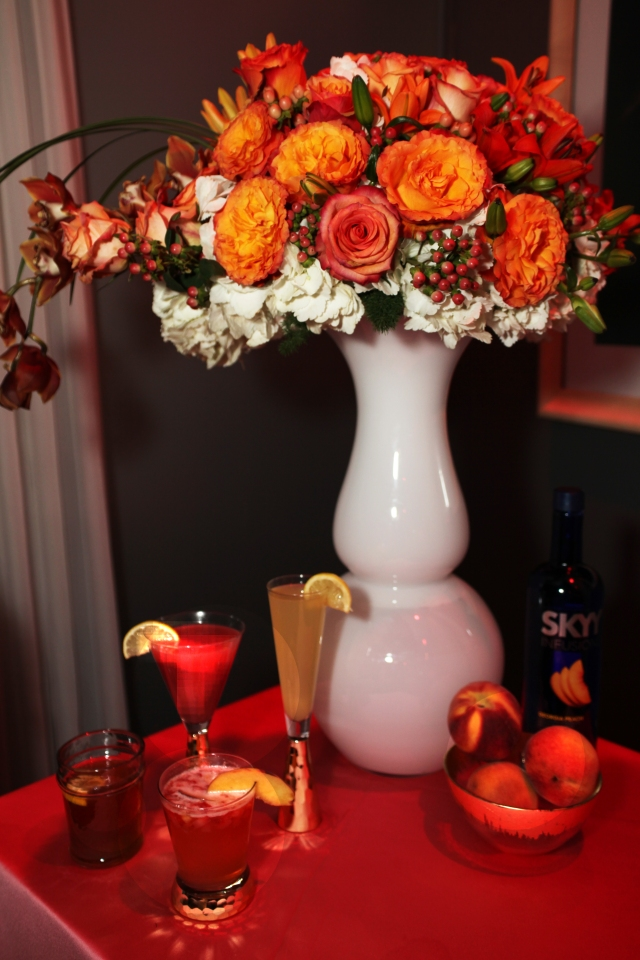Cocktails with Belle - Atlanta - Flowers and cocktails